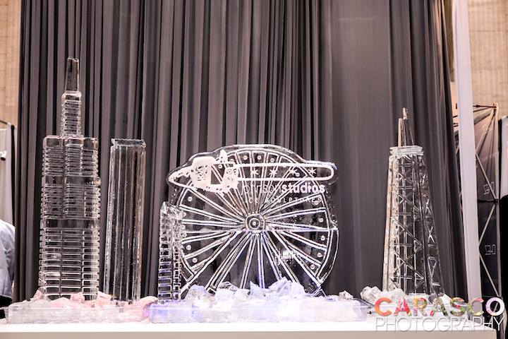 Brides Bubbles Bliss Chicago Wedding Ice Sculpture