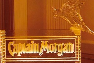 Captain Morgan Bird Logo Design Chicago Ice Sculpture