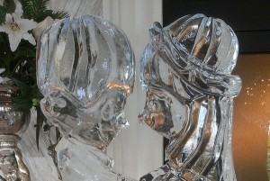 Precious Moments Love Ice Sculpture Chicago Wedding