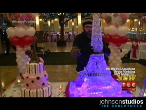 TLC My Big Fat American Gypsy Wedding Ice Sculpture